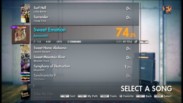 Скриншот №12 к Rocksmith® 2014 – Aerosmith Song Pack