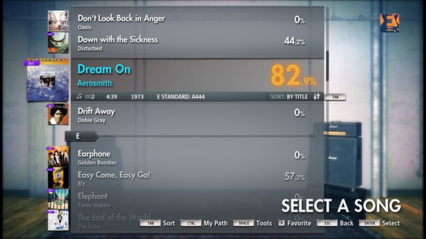 Скриншот №13 к Rocksmith® 2014 – Aerosmith Song Pack