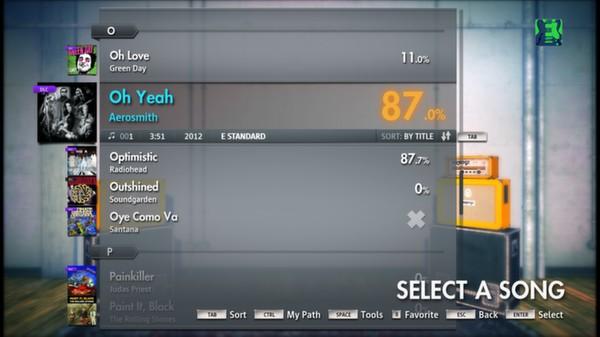 Скриншот №14 к Rocksmith® 2014 – Aerosmith Song Pack