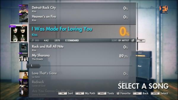 "Скриншот №3 к Rocksmith® 2014 – Kiss - ""I Was Made For Loving You"""