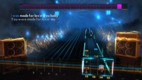 "Скриншот №2 к Rocksmith® 2014 – Kiss - ""I Was Made For Loving You"""