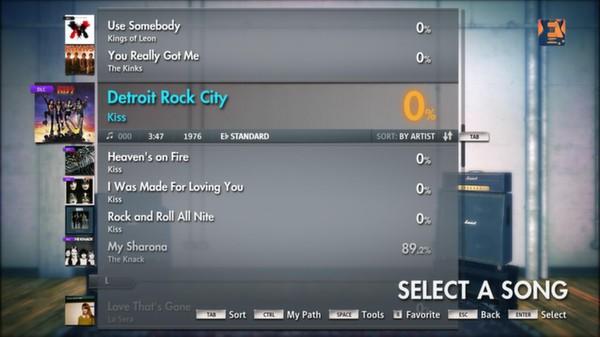 Скриншот №8 к Rocksmith® 2014 – Kiss Song Pack