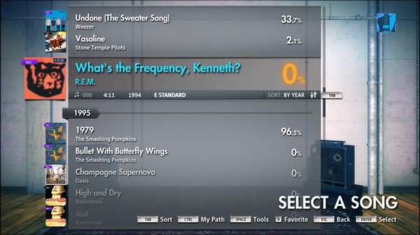 """Скриншот №5 к Rocksmith® 2014 – R.E.M. - """"Whats the Frequency Kenneth?"""""""