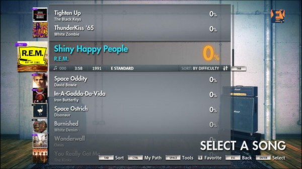"Скриншот №4 к Rocksmith® 2014 – R.E.M. - ""Shiny Happy People"""