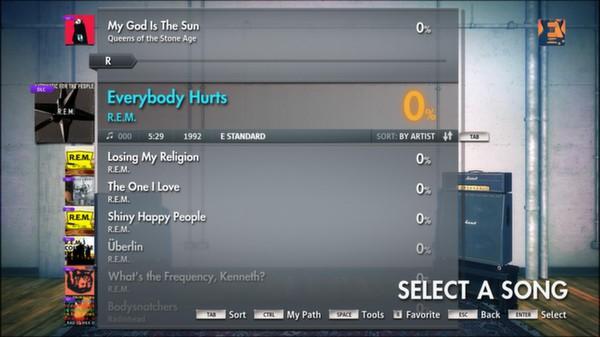 Скриншот №11 к Rocksmith® 2014 – R.E.M. Song Pack