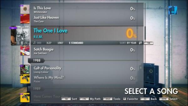 Скриншот №12 к Rocksmith® 2014 – R.E.M. Song Pack