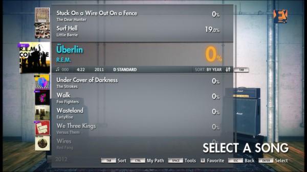 Скриншот №14 к Rocksmith® 2014 – R.E.M. Song Pack