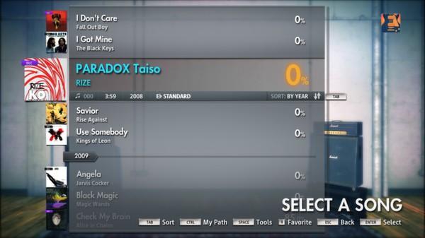 "Скриншот №4 к Rocksmith® 2014 – RIZE - ""PARADOX Taiso"""