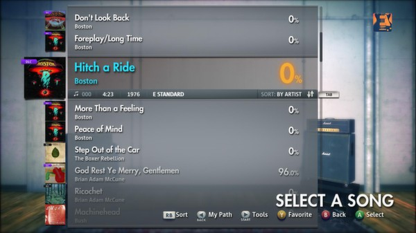"Скриншот №3 к Rocksmith® 2014 – Boston - ""Hitch A Ride"""