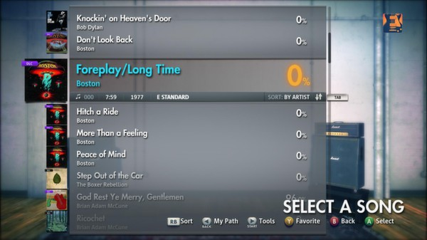 Скриншот №7 к Rocksmith® 2014 – Boston Song Pack