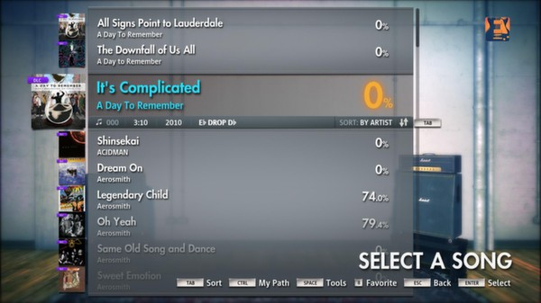 """Скриншот №4 к Rocksmith® 2014 – A Day To Remember - """"Its Complicated"""""""