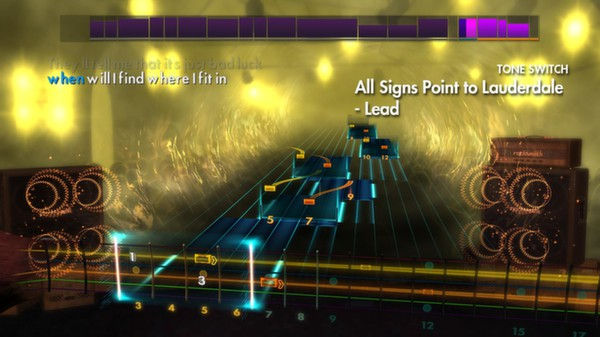 """Скриншот №5 к Rocksmith® 2014 – A Day To Remember - """"All Signs Point to Lauderdale"""""""