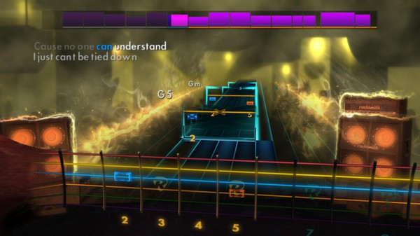 Скриншот №4 к Rocksmith® 2014 – A Day To Remember Song Pack