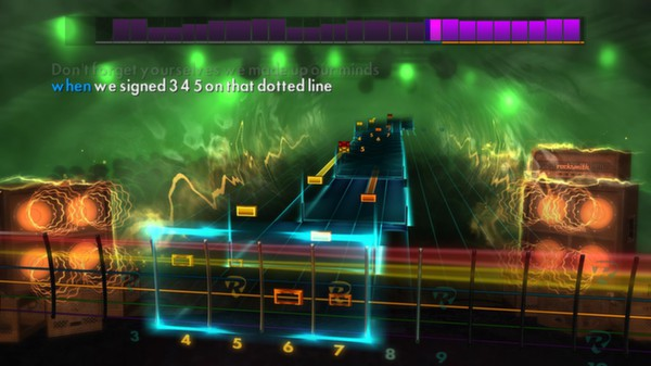 Скриншот №10 к Rocksmith® 2014 – A Day To Remember Song Pack