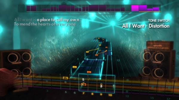 Скриншот №2 к Rocksmith® 2014 – A Day To Remember Song Pack