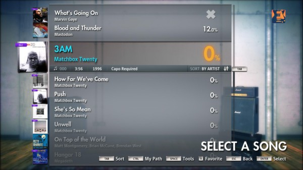 "Скриншот №1 к Rocksmith® 2014 – Matchbox Twenty - ""3AM"""