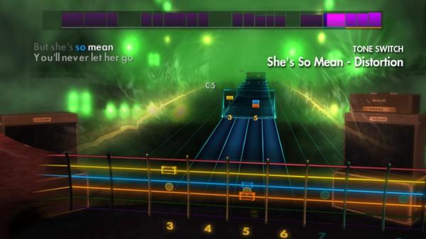 "Скриншот №2 к Rocksmith® 2014 – Matchbox Twenty - ""Shes So Mean"""