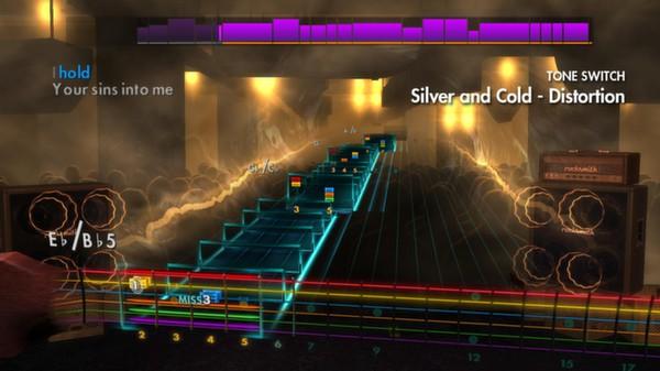 "Скриншот №1 к Rocksmith® 2014 – AFI - ""Silver and Cold"""