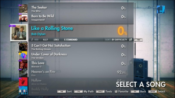 "Скриншот №2 к Rocksmith® 2014 – Bob Dylan - ""Like a Rolling Stone"""