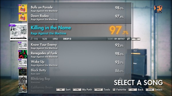 """Скриншот №5 к Rocksmith® 2014 – Rage Against the Machine - """"Killing in the Name"""""""
