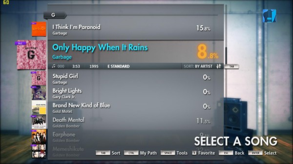 "Скриншот №5 к Rocksmith® 2014 – Garbage - ""Only Happy When It Rains"""