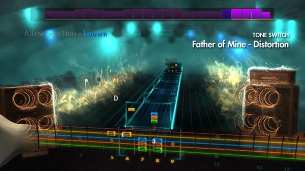 "Скриншот №4 к Rocksmith® 2014 – Everclear - ""Father of Mine"""