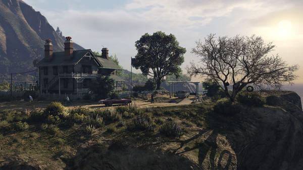 Grand Theft Auto V (GTA 5) скриншот