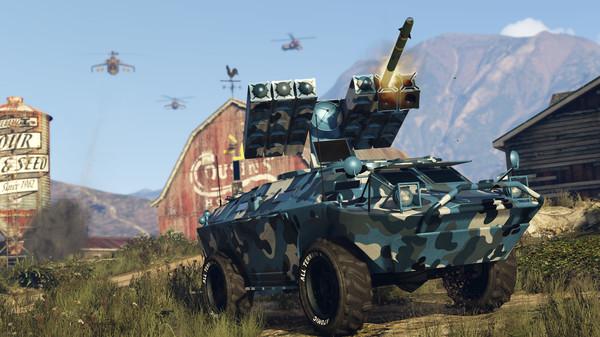 Скриншот №41 к Grand Theft Auto V