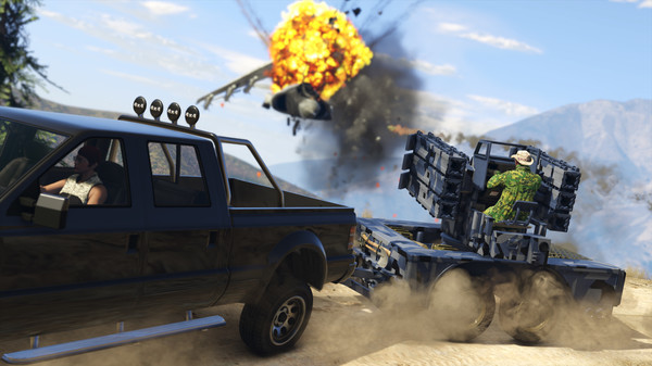 Скриншот №33 к Grand Theft Auto V