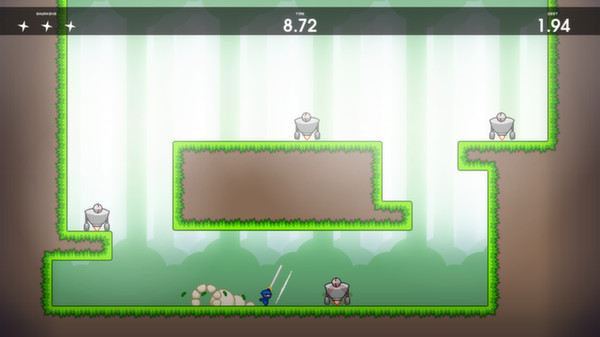 Screenshot of 10 Second Ninja