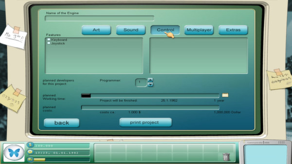 скриншот Game Tycoon 1.5 5