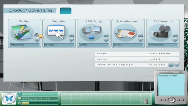 скриншот Game Tycoon 1.5 2