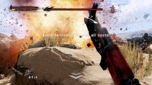 Скриншот №6 к Rambo The Video Game + Baker Team DLC