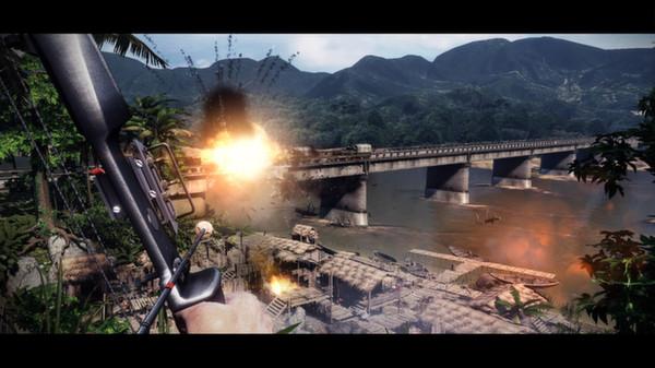 Скриншот №17 к Rambo The Video Game + Baker Team DLC