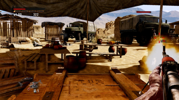 Скриншот №14 к Rambo The Video Game + Baker Team DLC
