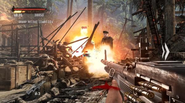 Скриншот №26 к Rambo The Video Game + Baker Team DLC
