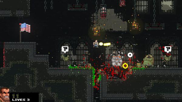 Скриншот №20 к Broforce