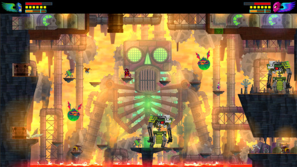 Screenshot of Guacamelee! Super Turbo Championship Edition