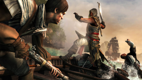 Скриншот №3 к Assassins Creed Freedom Cry