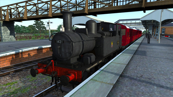 скриншот Train Simulator: GWR Class 14XX Loco Add-On 1
