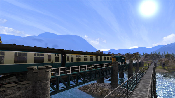 скриншот Train Simulator: West Highland Line Extension Route Add-On 1