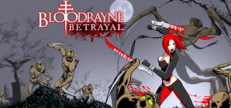 BloodRayne Betrayal Cover Image