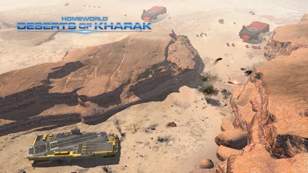 Скриншот №8 к Homeworld Deserts of Kharak
