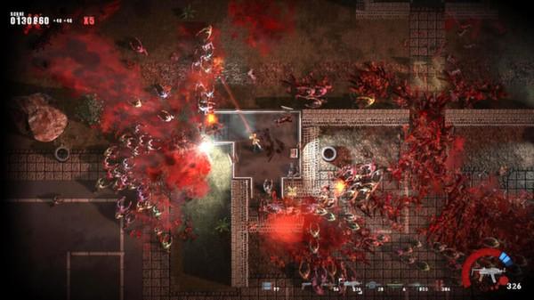 скриншот Splatter - Zombie Apocalypse 0