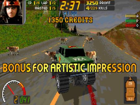 Скриншот №1 к Carmageddon Max Pack