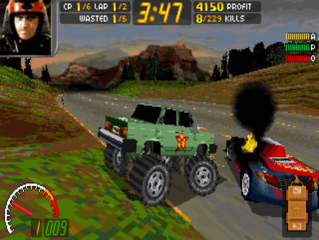 Скриншот №2 к Carmageddon Max Pack