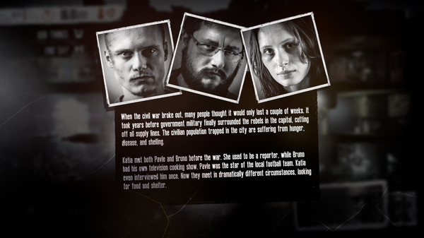This War of Mine (TWoM) скриншот
