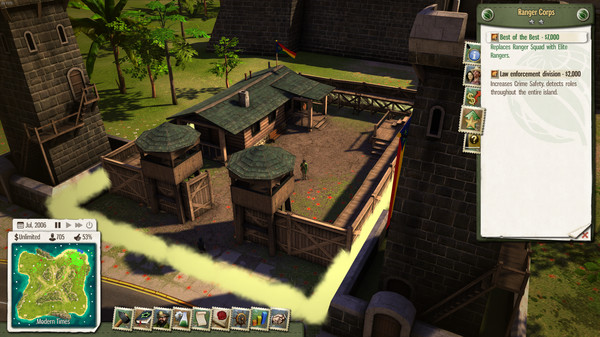 Скриншот №3 к Tropico 5 - Espionage