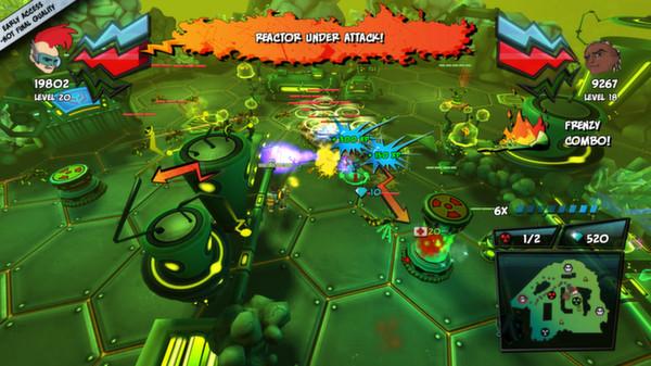 скриншот ZAMB! Biomutant Extermination 4