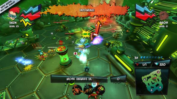скриншот ZAMB! Biomutant Extermination 5